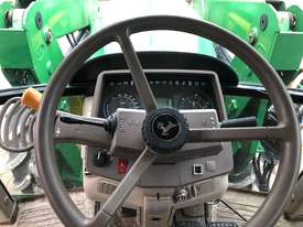 John Deere 6130 CAB TRACTOR WITH CHALLENGE LOADER - picture9' - Click to enlarge