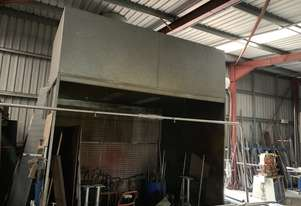 Spray Booth, dry filter type