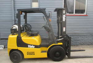 Yale 2.5 ton, Container Mast Used Forklift  #1482