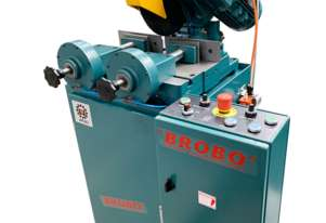Brobo Waldown Cold Saw SA350 Metal Cutting 415 Volt 20-100 RPM Semi Automatic PN 9910040