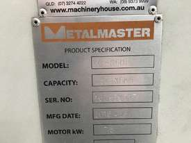 Just Arrived - USED Metalmaster HG860B - 2500mm x 6mm Guillotine - picture2' - Click to enlarge