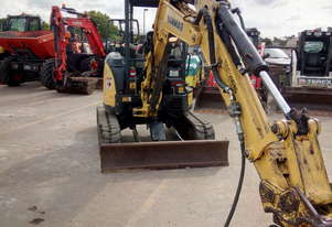 Used 2015 Yanmar VIO365BP 365BP 3.7 Tonne Mini Excavator for Sale