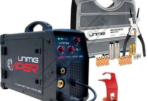 VIPER 182 Multi-Function Inverter Welder-MIG-MMA Package Deal 30-180 Amps, #KUMJRVW182 Includes Cons