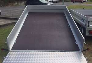 Tilt Box Trailer With Ramp (10x6 ft)