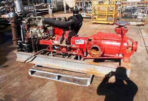 Diesel Fire Fighting Multi-Stage Pump, IN: 125mm Dia, OUT: 75mm Dia