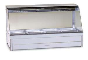 Roband C24RD Curved Glass Hot Food Bar