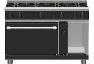 Waldorf Bold RNLB8816G - 1200mm Gas Range Static Oven Low Back Version