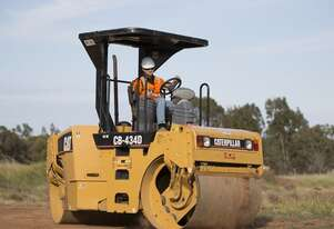 Caterpillar CB-434D Smooth Drum For Hire