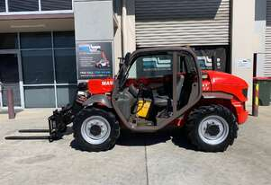 Used Manitou MT523 For Sale with Pallet Forks