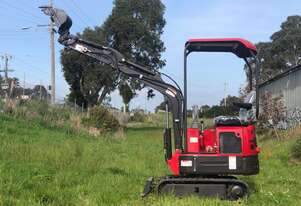 2020 14HP Yanmar Engine 1.2T Mini Excavator with FREE 9  Attachments