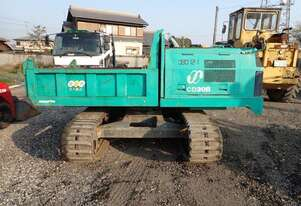 Komatsu CD30R-1 tracked dumper with 360 rotation