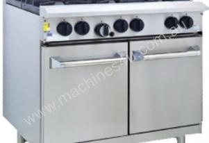 Luus RS-4B3C - 4 Burners, 300 BBQ Char & Oven