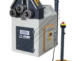 PK-35F Section &  Pipe Rolling Machine 50 x  50 x 5mm Angle Capacity Includes Variable Speed Rollers - picture0' - Click to enlarge