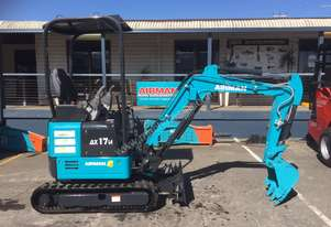 2018 AIRMAN AX17U MINI EXCAVATOR