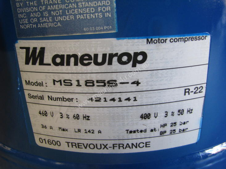 Maneurop Motor Compressor MS185S-4