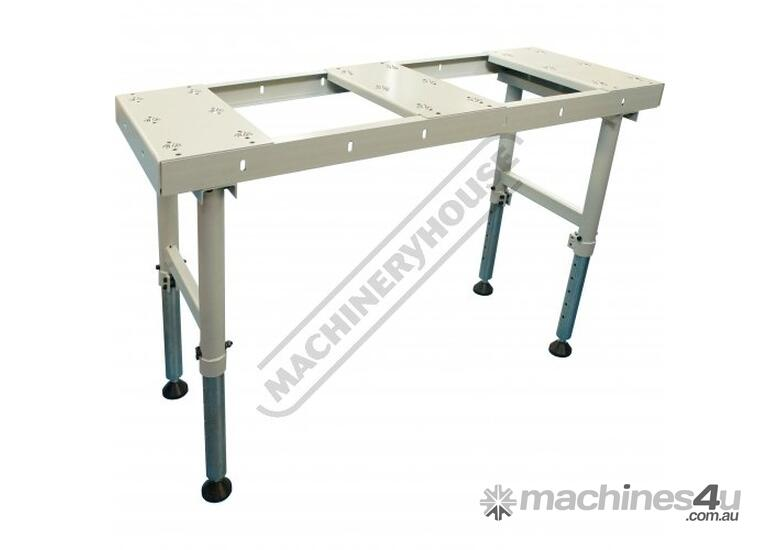 BTT-150 Ball Transfer Table - Sheet Metal & Plate 600 x 1500mm Steel Ball Rollers & Adjustable Stand