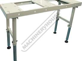 BTT-150 Ball Transfer Table - Sheet Metal & Plate 600 x 1500mm Steel Ball Rollers & Adjustable Stand - picture0' - Click to enlarge