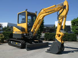 Yuchai YC35SR (Zero Swing) Mini Excavator - picture4' - Click to enlarge