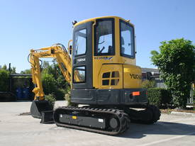 Yuchai YC35SR (Zero Swing) Mini Excavator - picture2' - Click to enlarge