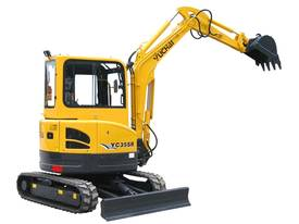 Yuchai YC35SR (Zero Swing) Mini Excavator - picture13' - Click to enlarge