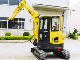 Yuchai YC35SR (Zero Swing) Mini Excavator - picture8' - Click to enlarge
