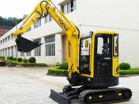 Yuchai YC35SR (Zero Swing) Mini Excavator - picture7' - Click to enlarge