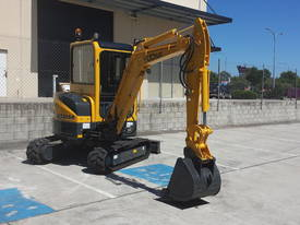 Yuchai YC35SR (Zero Swing) Mini Excavator - picture5' - Click to enlarge