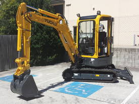 Yuchai YC35SR (Zero Swing) Mini Excavator - picture6' - Click to enlarge