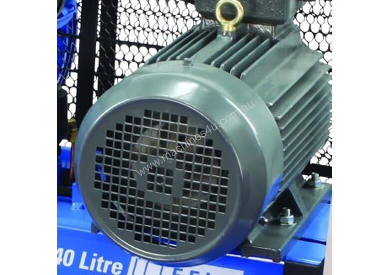 11kW Quality Tank Mounted Piston Air Compressor