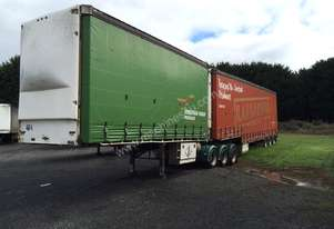 2005 Vawdrey 32 Pallet B/Double Curtainsiders