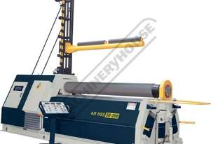 4R HS 25-245 Hydraulic Plate Curving Rolls 2550 x 10mm Mild Steel Capacity 4 Roll System