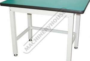 IWB-12 Industrial Work Bench 1200 x 750 x 900mm 1000kg Table Top Load Capacity