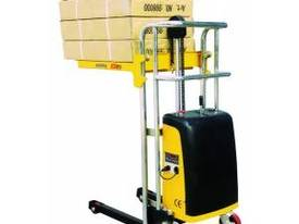 Semi Electric Platform Stacker - picture0' - Click to enlarge
