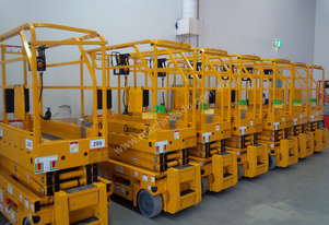 BRAND NEW 19ft electric scissor lift