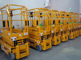 BRAND NEW 19ft electric scissor lift - picture0' - Click to enlarge