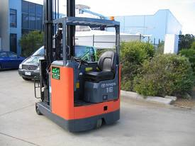 TOYOTA 6FBRE16 Reach Truck with 7.5 mtr lift - picture7' - Click to enlarge