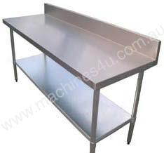 Brayco S/Steel Bench with SplashBack