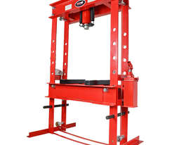 50 Ton Professional H-Frame Shop Press - picture0' - Click to enlarge