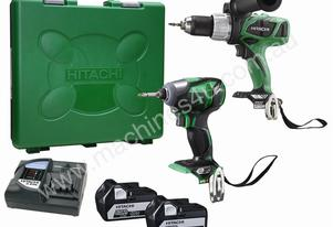 HITACHI 2 PIECE KC18DDL18V COMBINATION KIT