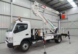 Fuso Canter 918 Elevated Work Platform Truck