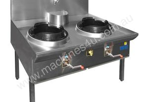 Gasmax Triple Waterless Gas Wok 3WOK12/14