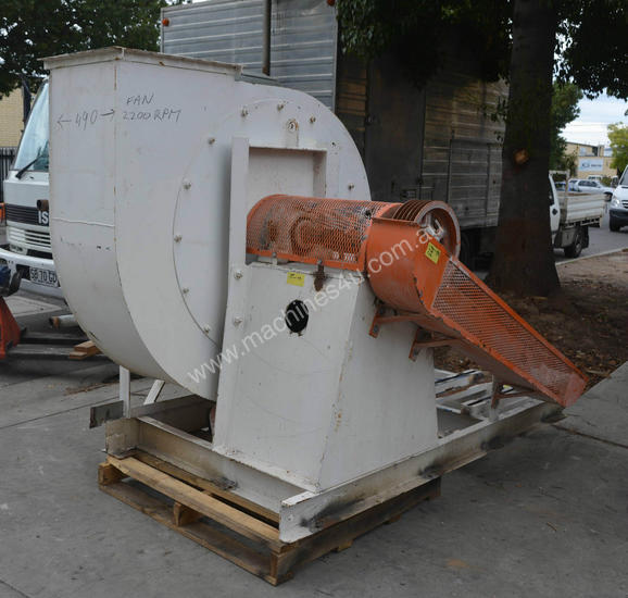 Zurin Clarage Fan Large material handling dust ext