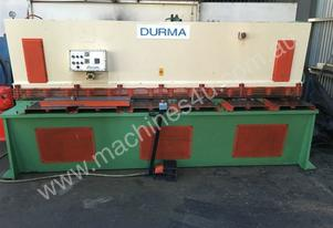 Durma   3100mm x 6mm guillotine