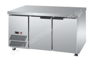 F.E.D. LBF120 Two Door Lowboy Fridge