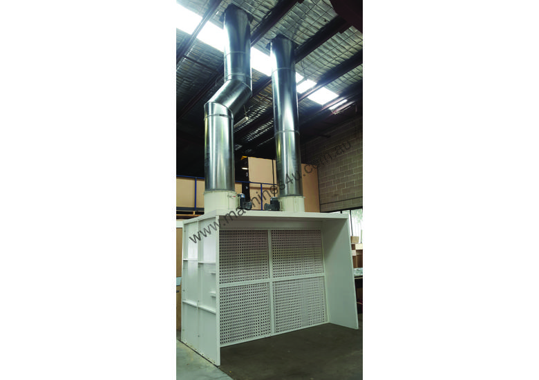 Dry Spray Booths for industrial painting