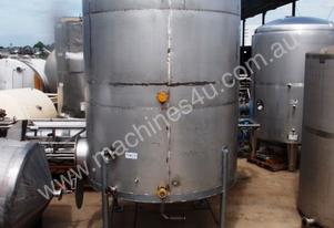 Stainless Steel Storage Tank - Capacity 13,000Lt