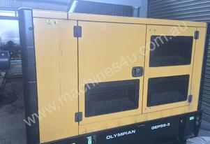 Caterpillar / Olympian 55kVA Generator, low hours