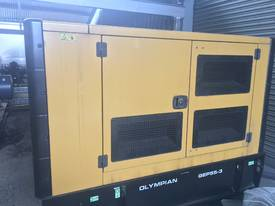 Caterpillar / Olympian 55kVA Generator, low hours - picture0' - Click to enlarge