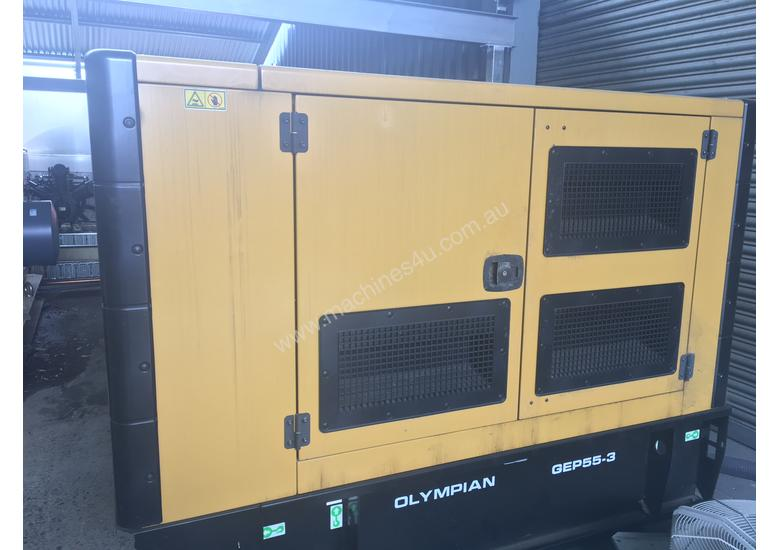 Caterpillar Olympian 55kVA Generator low hours