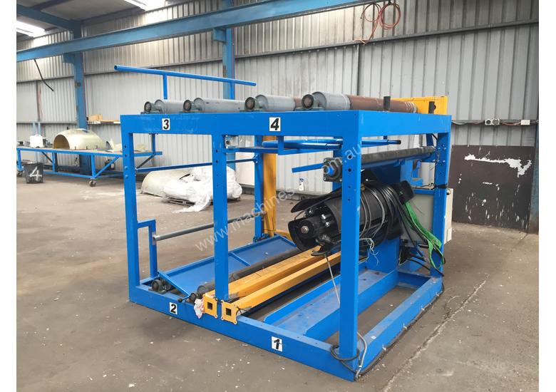 SOLD SWI 1500mm Wide Powered Decoiler